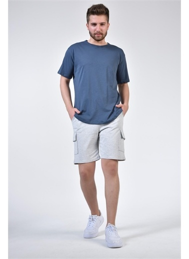 Rodi Jeans Erkek Kargo Cep Penye Renkli Kapri TY21YE130150 Gri